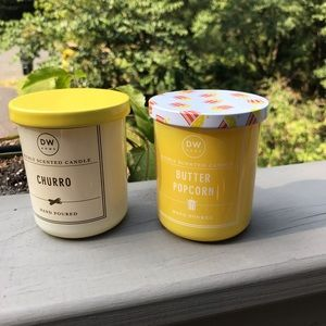 Set of two New Candles smell divine!!!